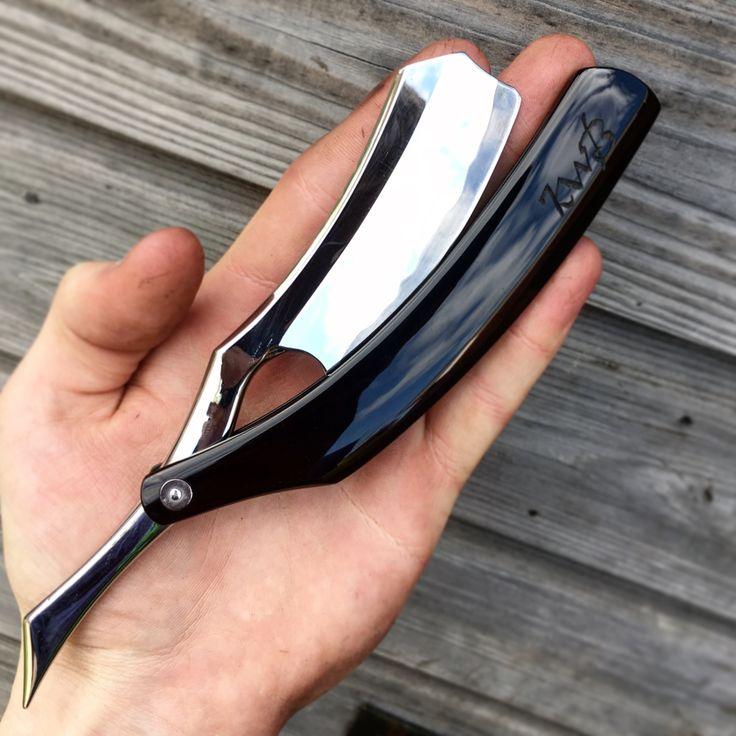Stainless San mai custom razor for sale email me: korben1@btinternet.com