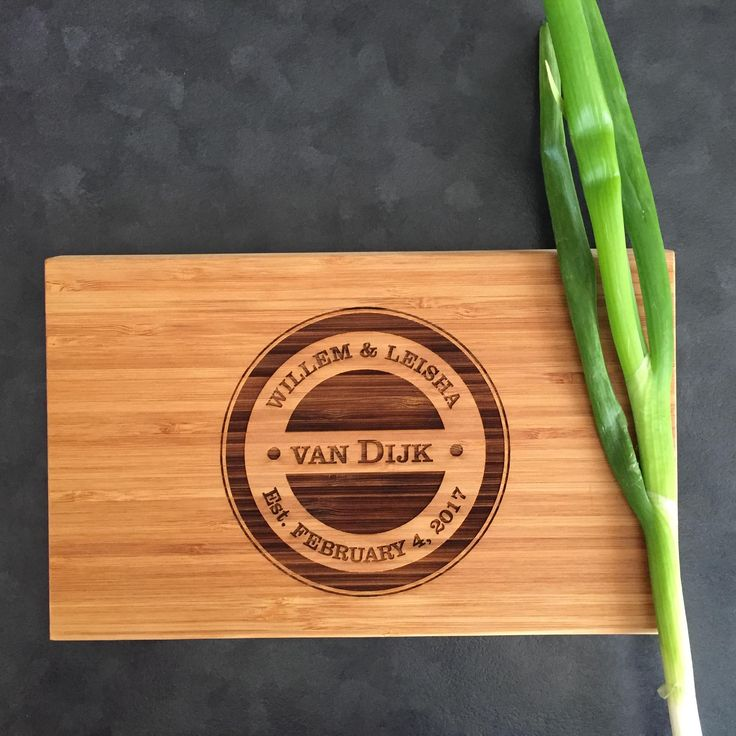 Personalised Engraved Chopping Board - IKBMB2315