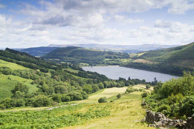 Talybont Reservoir, Brecon Beacons