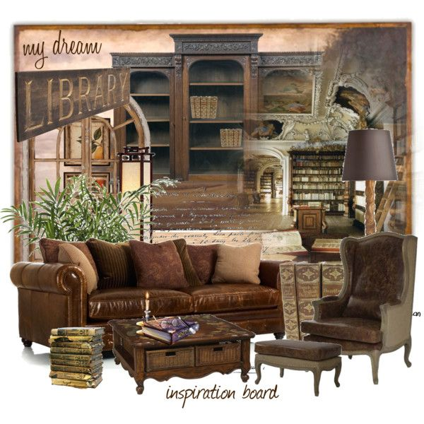 """dream library"" by blueberryblossom on Polyvore"