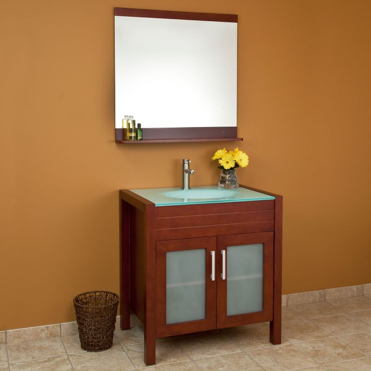 32 Garrick Vanity Cabinet With Mirror $624.95   $694.95 Signature Hardware