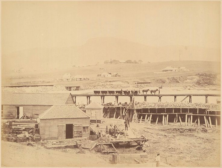 Wollongong Basin in southern New South Wales in 1880.