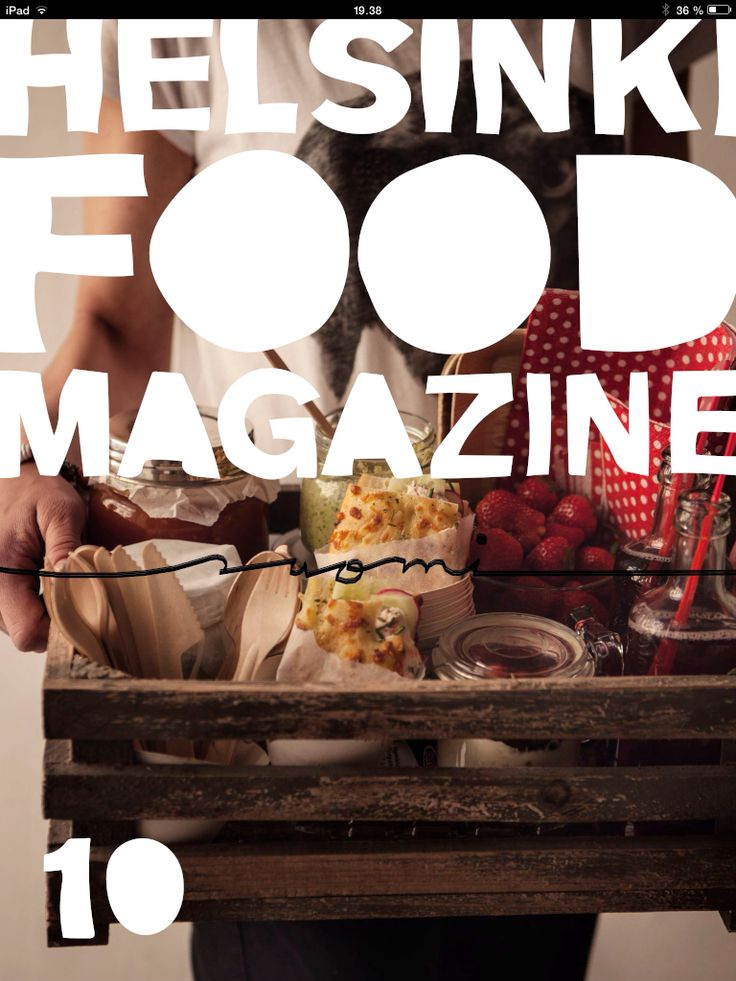Our picnic issue of Helsinki Food Magazine is out now! Picnics are a fun way to continue your summer and good vacation vibes! Helsinki Food Magazine is available in AppStore/Newsstand for iPads (both in english and in finnish)