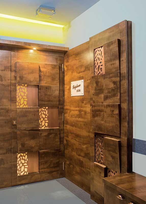2504 Parkwoods Thane Istudio Architecture Room Door