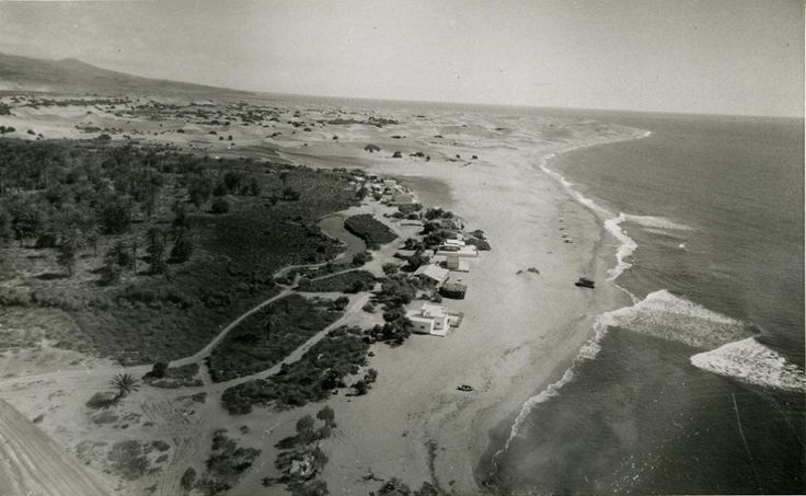 Gran Canaria Digitalizadas álbum de Sissi y Maspalomas años 50, entre 35.000 foto antiguas a disposición en canales internacionales