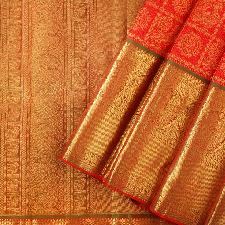 Kanakavalli Kanjivaram Silk Sari 0102010459A1 - Cover View