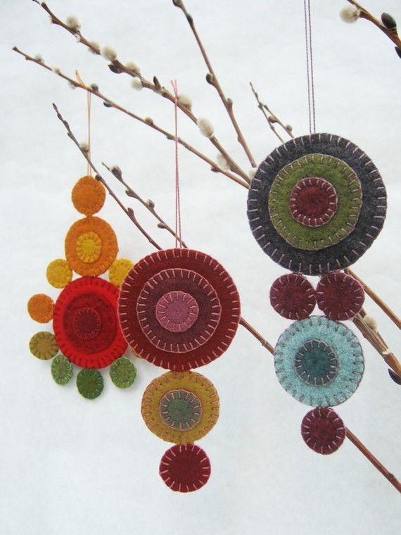 Penny Rug Ornament