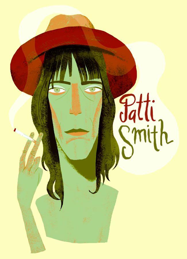 Patti Smith / Musician / by Francisco Javier Olea