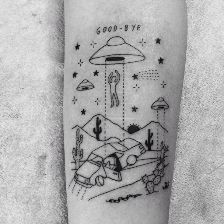 Out of This World Tattoo Designs By 'Sean FromTexas'