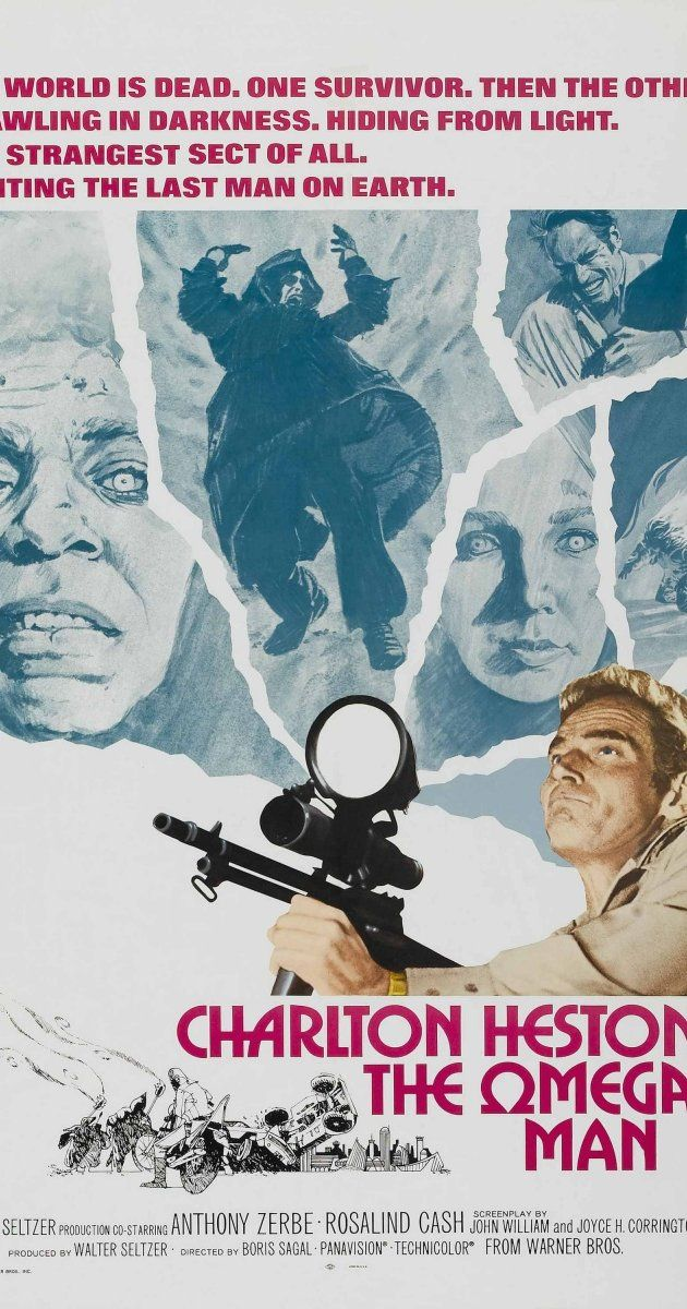 Directed by Boris Sagal. With Charlton Heston, Anthony Zerbe, Rosalind Cash, Paul Koslo. Army doctor Robert Neville struggles to create a cure for the plague that wiped out most of the human race.