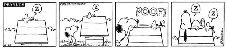 This strip is from August 27, 1973.