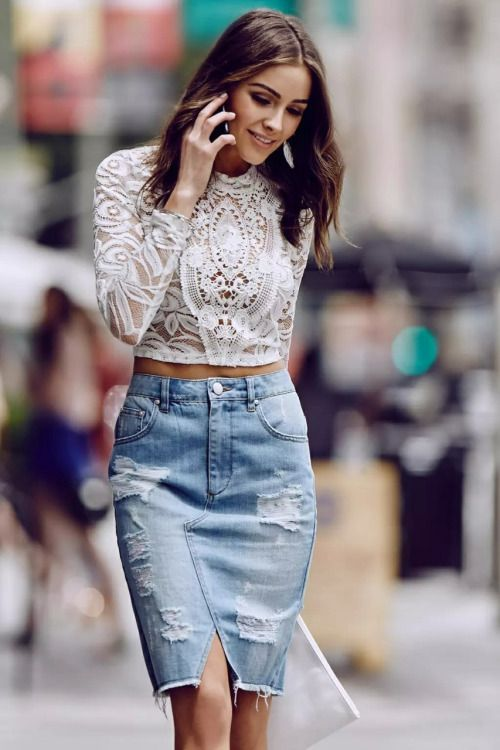 Lace Glamour and Grunge | Olivia Culpo