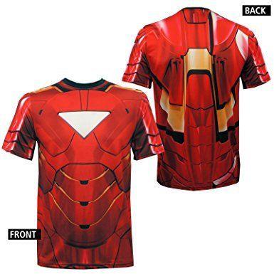 Iron Man Costume Shirt