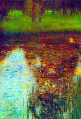 Gustav Klimt, The Marsh