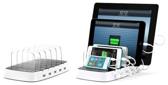 PowerDock - Tired of Hunting for IPad Chargers? This Multi-Device Charger is Ready to Help.