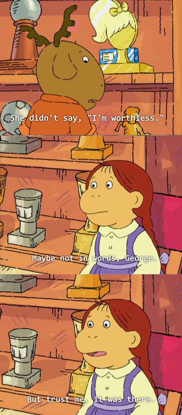 "…and then basically called him worthless. | 15 Times Muffy From ""Arthur"" Was The Most Ruthless Bitch Who Ever Lived"