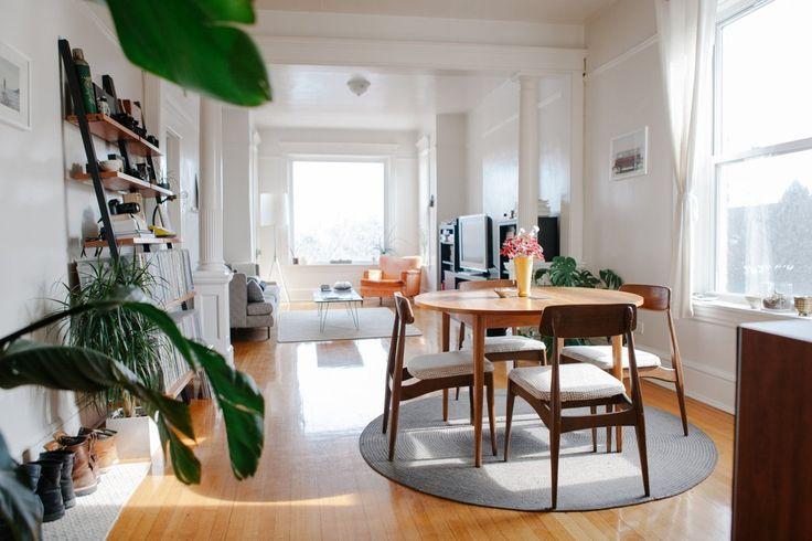 Ryan & Stephanie's Light-Filled Wicker Park Apartment