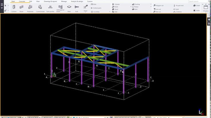 Trimble Tekla Structure 2016_Add a component to a model
