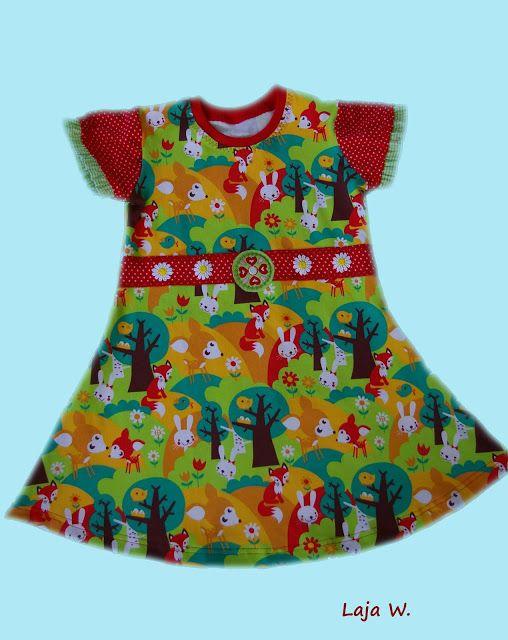 Knit dress made with the Farbenmix Uta pattern