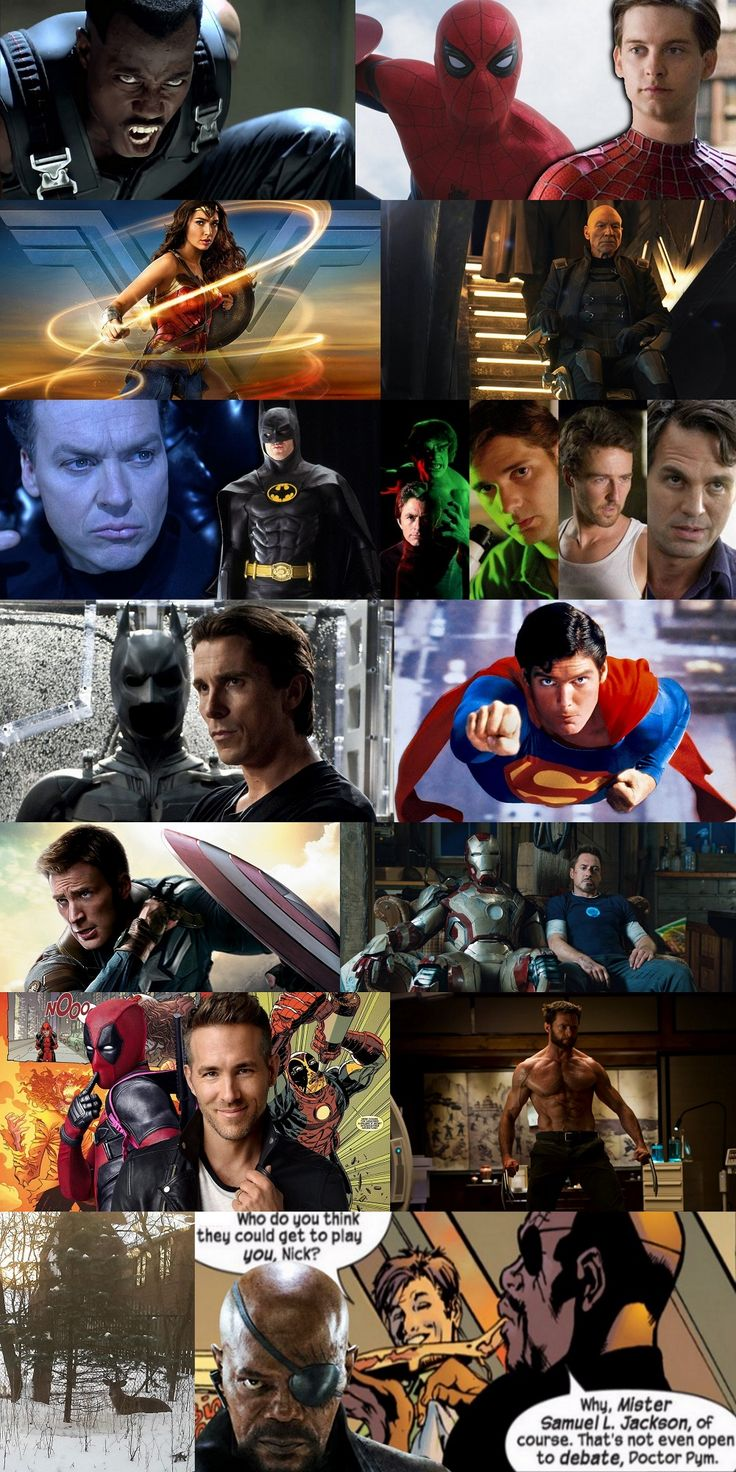 Who played the superhero best? Top 10 actors who did. #ChristianBale #RyanReynolds #Deadpool via @MovieTVTechGeeks