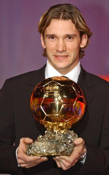 Andrei Shevchenko, Balón de Oro, 2004