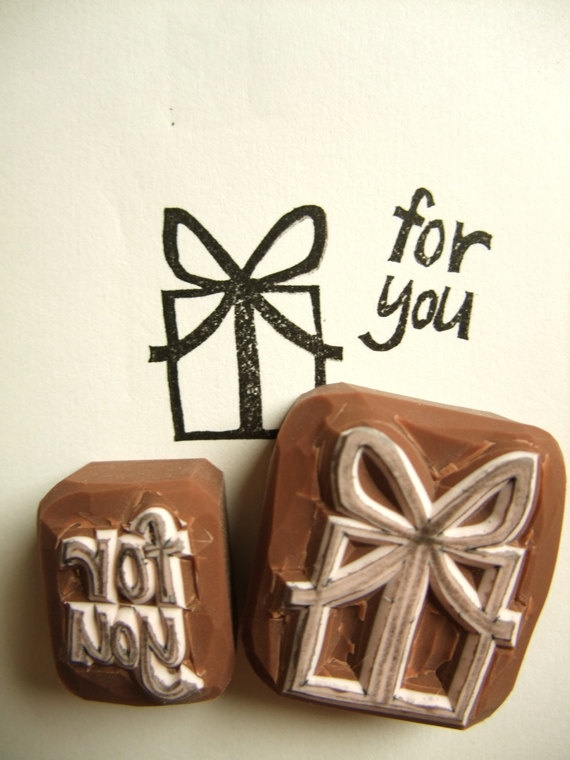 For you stamp present