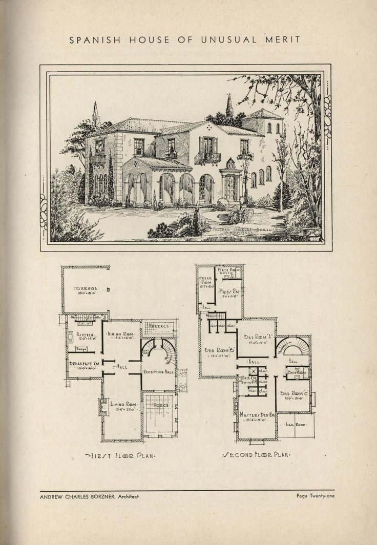 The Book Of Beautiful Homes. : Andrew C. Borzner : Free Download, Borrow,  And Streaming. Vintage House PlansVintage ...