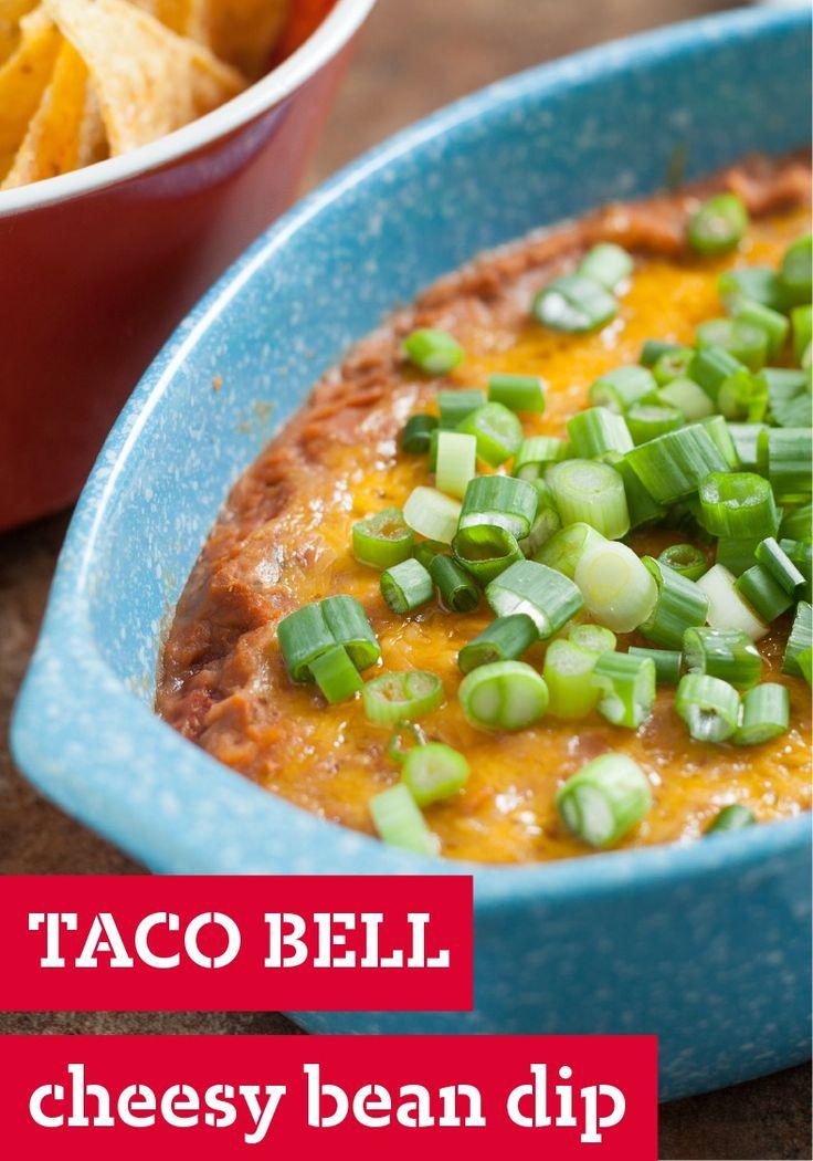 Cheesy Bean Dip – Warm, tasty, and gloriously cheesy, this bean dip ...