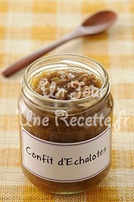Photo de la recette Confit d'échalotes