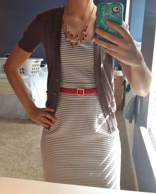 A Little Bit of WoWe : Teacher Wardrobe Series: One Dress Six Ways