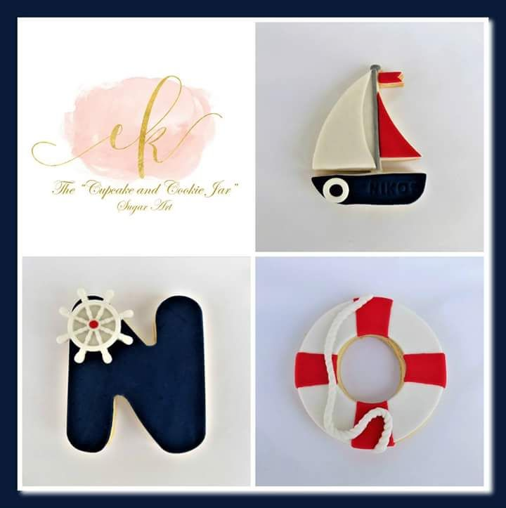 Nautical themed cookie set!