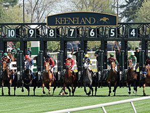 Keeneland racing