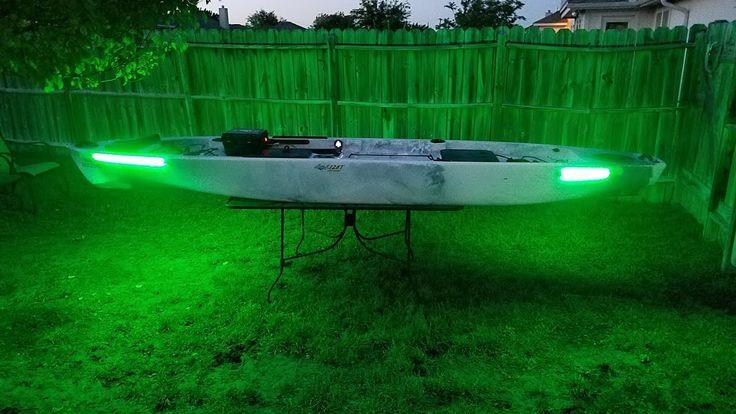 280 best kayak fishing images on pinterest kayak fishing for Kayak lights for night fishing