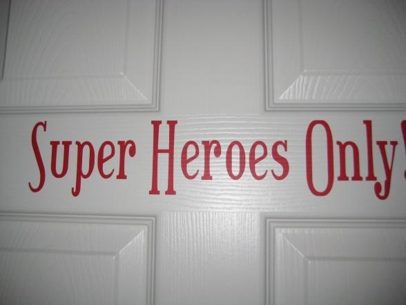 words for door sign?