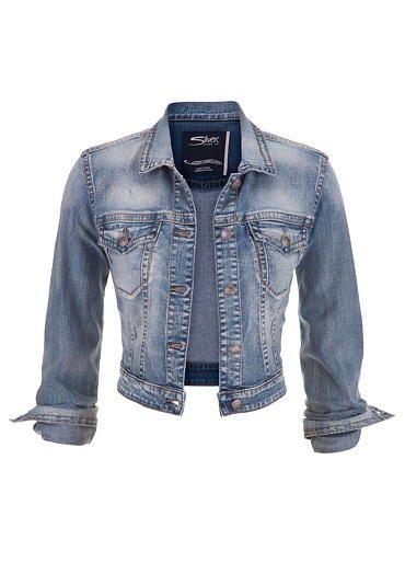 1000  images about DENIM on Pinterest | Cropped denim jacket ...