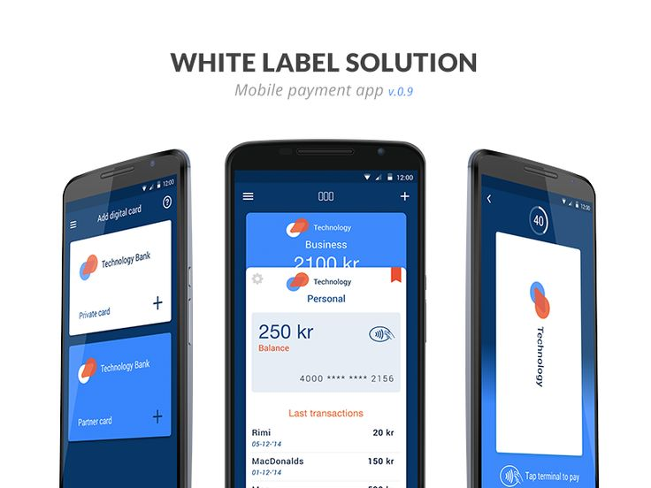 A mobile payment white label app solution i am currently designing. This is one of the layouts were experimenting with.