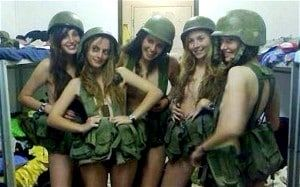 Israeli female soldiers have been disciplined after posting pictures of themselves in their underwear on Facebook in the latest social media embarrassment to hit Israel's armed forces.