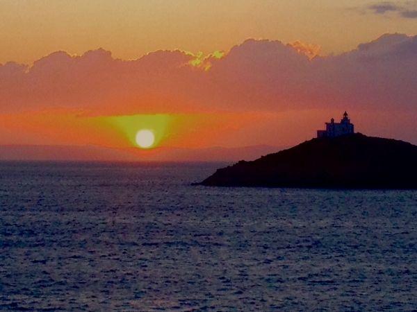 Each day the sun goes down, Vourkari, Kea island