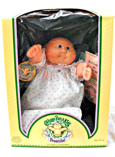 1983 Cabbage Patch Kids Preemie