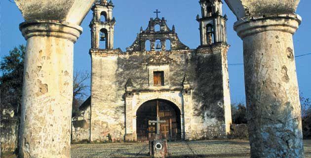 Tlayacápan Pueblo Mágico en Morelos. México