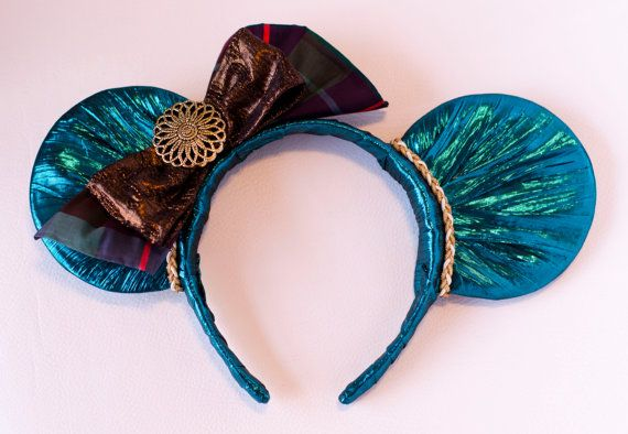 Brave Merida Inspired Mickey Mouse Ear Headband by InCindysCloset, $38.50