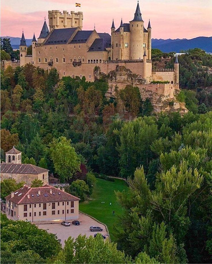 Alcazar de Segovia. Spain