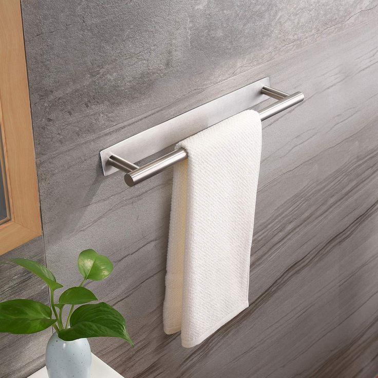 ZUNTO Handtuchhalter 40 cm Bad Handtuchstange Ohne Bohren