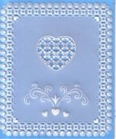 My 4th published design in Parchment Craft Magazine, January 2011
