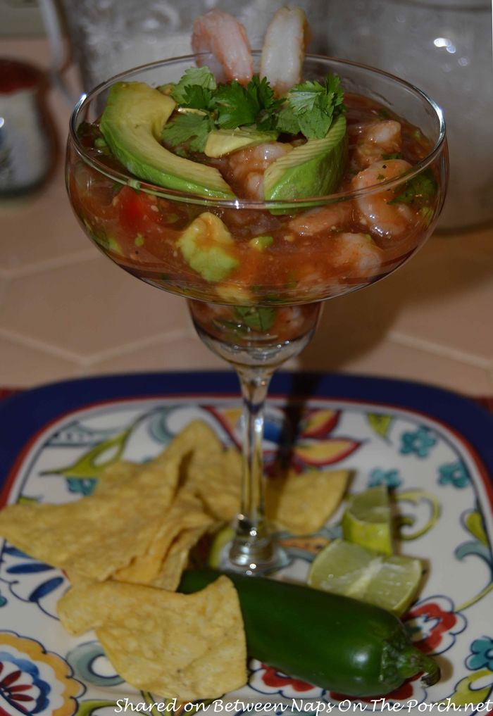 Mexican Shrimp Cocktail, Perfect for A Party!