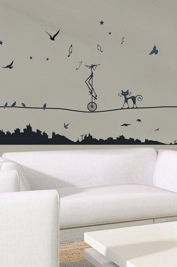 Tight Rope Removable Wall #Decal