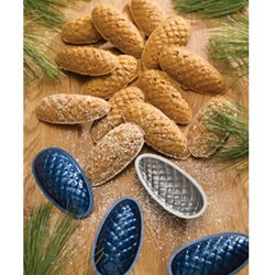 Swedish Pine Cone Cookie Tins    http://www.fancyflours.com/product/Swedish-Pine-Cone-Cookie-Tins-Set-of-9/543