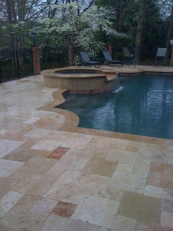 132 Best Images About Swimming Pool On Pinterest Travertine Pavers Decks And Travertine