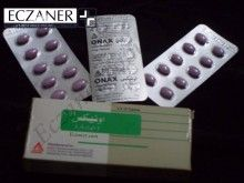 Onax (Alprazolam) 1mg by safe pharma