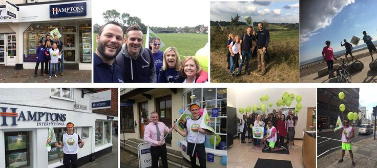 Some great moments from our Relay Around The Regions for Cancer Research UK